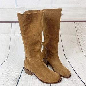 Naughty Monkey Stride Chelsea Boots Tall Suede 10
